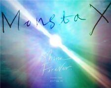 MONSTA X [SHINE FOREVER] 1st Repackage Album 2 Ver SET+4p POSTER+Photo Book+etc