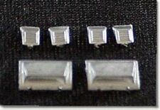 HO Scale Passenger Car Detail Parts Streamlined Roof Vents for Train 2255