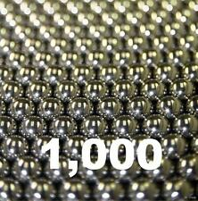 "1000 3/8"" Inch G1000 Utility Grade Carbon Steel Bearing Balls"
