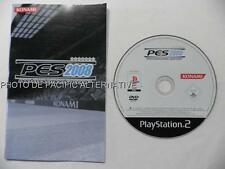 Jeu PES 2008 pro evolution soccer playstation 2 PS2 sport foot ball game loose
