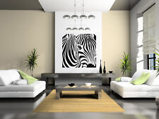 "Zebra, Wall Decal Vinyl Art Sticker, Highest Quality, Made in USA, 23.5"" x 23.5"""