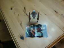 LEGO STAR WARS 7111 DROID FIGHTER 100% COMPLETE