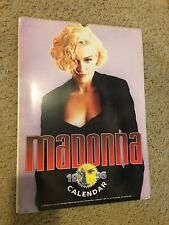 RARE Vintage 1996 Madonna Calendar By Oliver Books from UK