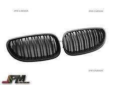 M Look Matte Black Front Grille 04-10 E60 E61 520i 528i 535i 550i M5 Sedan Wagon