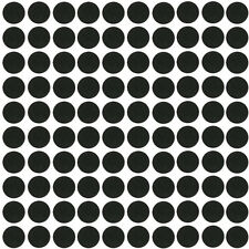 25mm 100 Pcs Black Round Silico Games Bases Antiskid Model Bases For Wargames
