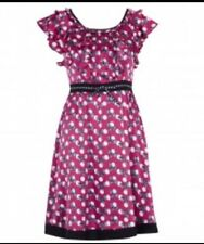 New Alannah Hill Size 8 Come What May Frock Dress - Silk - A/W2011