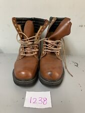 Ramrods Insulated Brown Leather Work Boots Size 9 Style # 46943