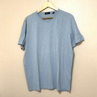Theory slim fit T-Shirt mens  Sz XXL blue short sleeve crew neck cotton