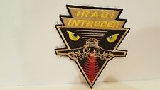 Navy Intruder Color Patch 4 x 4 1/2 inches