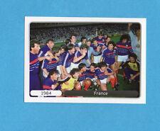 PANINI-EURO 2012-Figurina n.526- ESULTANZA - FRANCIA 1984 -NEW WHITE BOARD