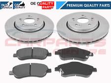 Brake Discs 304mm Solid Honda CR-V 2.0 2.2 CTDI Rear Delphi Brake Pads