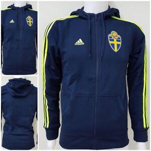 adidas Schweden SvFF Jacke Kapuzenjacke Hoodie Sweatshirt Pullover XS S XL L O