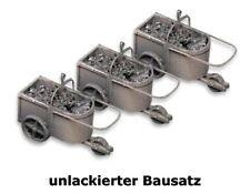 Artitec 10.298 - 1:87: 3 Kohlehunten, Bausatz, unlackiert - NEU + OVP