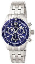 Invicta мужские часы специальность хронограф синий циферблат Ss браслет кварц 0620