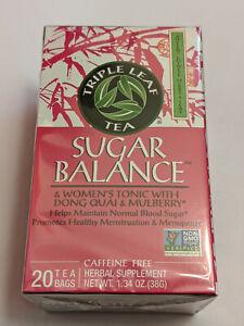 Triple Leaf Tea Sugar Balance Tea 20 Bags