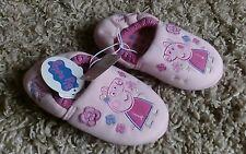 Peppa Pig Nuevo Chicas Zapatillas Tamaño UK 13 Niños Rosa Bnwt