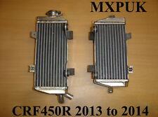CRF450 2013 RADIATORS PERFORMANCE RADS MXPUK 2013 CRF 450 RADIATOR CR450F (008)