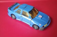 Transformers 2003 SIDESWIPE Armada Series Super-cons class Autobot Loose Blue
