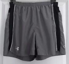 Men's UNDER ARMOUR Catalyst Running Short Size L Gray/Black