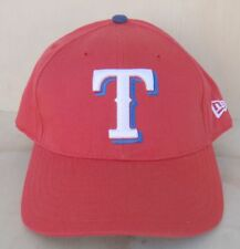 TEXAS RANGERS RED ADJUSTABLE BALL CAP ONE SIZE FITS ALL SNAPBACK