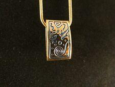 Ketten Anhänger 24 Karat Vergoldet Hieroglyphen Schlange Deluxe Halskette Auge
