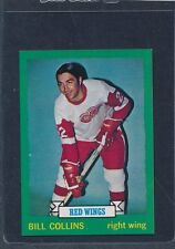 1973/74 OPC O-Pee-Chee CB #163 Bill Collins Red Wings NM-MT+ 73OPC163-111815-1