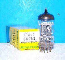 12AU7 ECC82 NOS Amperex audio radio amplifier vacuum tube valve Holand Bugle Boy
