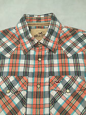Hollister Men's Slim Check Casual Shirts & Tops