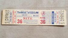 Vintage June 29, 1982 NY Yankees  Full Ticket v. Milwaukee Brewers