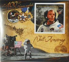 Neil Armstrong Apollo 11 Moon landing space Gabon 2011 s/s Imperf MNH #P069
