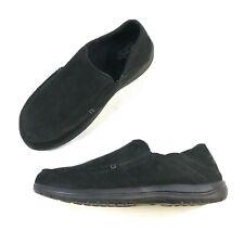 Crocs Mens Santa Cruz Convertible Leather Slip-On Sz 12