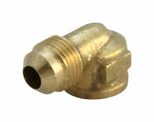 JMF  5/8 in. Flare   x 1/2 in. Dia. FPT  Yellow Brass  Elbow