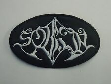 SORHIN BLACK METAL EMBROIDERED PATCH