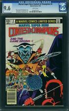 Marvel Contest of Champions #2 CGC 9.6 1982 NM+ White Pages! E11 223 1 cm