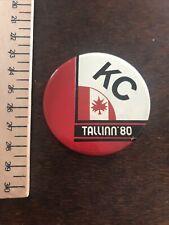 Norma Tallin Estonia Olympics Sports Badge KC Canada Maple