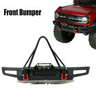 Metal Front Bumper Anti-Collision for Traxxas KYX1/10 Car 2021 Ford Bronco Trx-4