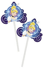 Disney Cinderella Party Straws, princess cinderella birthday party