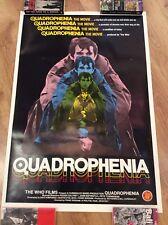 Rare QUADROPHENIA Original GS160 LI150 Movie Poster MODS LAMBRETTA VESPA SCOOTER