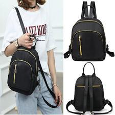 Women Nylon Backpack Preppy Casual Small Travel Shoulder Bags Ladies School Bag