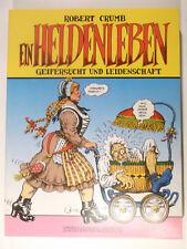 Robert Crumb Ein Heldenleben ( Zweitausendeins Softcover 3.Auflage )