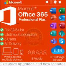 ✅MS®Office Pro 2019 Plus 32/64 Bits Professional 5 PC LIFETIME ACCOUNT ✅NO Key✅