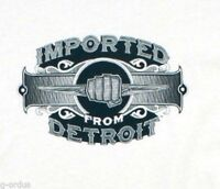NEW CHRYSLER MENS IFD IMPORTED FROM DETROIT LITHOGRAPHY SIZE LARGE GREY SHIRT!