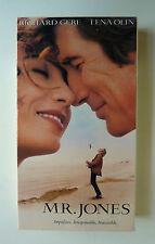 Mr. Jones (VHS, 1993) Richard Gere Lena Olin Anne Bancroft Ex-Rental