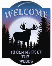 Moose Wall Sign