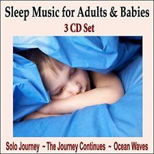 MUSIC FOR DEEP SLEEP: Sleep Music for Insomnia Cure REM Sleep Solution -3 CD SET