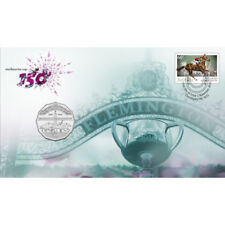 2010 Australia150th Anniversary of the Melbourne Cup Stamp and Coin PNC