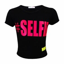 T-shirts, hauts et chemises noir pour fille de 7 à 8 ans