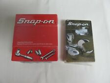 Vintage Snap-On Tool Playing Cards & Post-It Notes in Box - Advertising