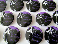 THE HARE AND THE MOON WOOD WITCH 38mm LIMITED EDITION BADGE