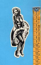 ADESIVO/STICKER (62)- MARILYN MONROE- vintage - cm.4,5X12,5